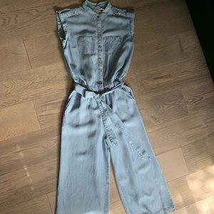 CHICO'S lyocell jumpsuit